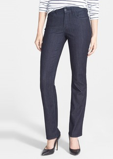 Not Your Daughter's Jeans NYDJ 'Marilyn' Stretch Straight Leg Jeans (Dark Enzyme) (Regular & Petite)