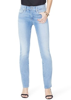 NYDJ Marilyn High Waist Stretch Straight Leg Jeans (Rinse) (Regular & Petite)