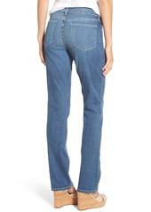 NYDJ Marilyn Stretch Straight Leg Jeans (Heyburn) (Regular & Petite)