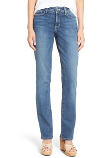 NYDJ Marilyn Stretch Straight Leg Jeans (Heyburn) (Regular & Petite)