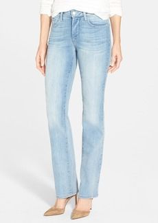 Not Your Daughter's Jeans NYDJ 'Marilyn' Stretch Straight Leg Jeans (Manhattan Beach)