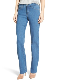 NYDJ Marilyn Stretch Straight Leg Jeans (Monrovia)