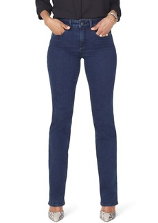 NYDJ Marilyn High Waist Stretch Straight Leg Jeans (Regular & Petite) (Firesky)