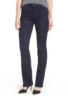 Not Your Daughter's Jeans NYDJ Marilyn Stretch Straight Leg Jeans (Rinse) (Regular & Petite)