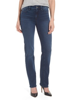 Not Your Daughter's Jeans NYDJ Marilyn Stretch Straight Leg Jeans (Traveler) (Regular & Petite)