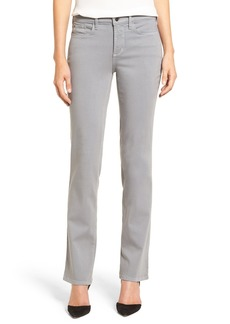 Not Your Daughter's Jeans NYDJ 'Marilyn' Stretch Twill Straight Leg Pants (Regular & Petite)