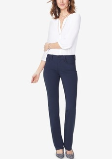 Nydj Marilyn Tummy-Control Straight-Leg Pants