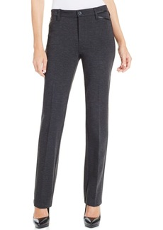 Not Your Daughter's Jeans Nydj Marilyn Tummy-Control Straight-Leg Ponte Pants