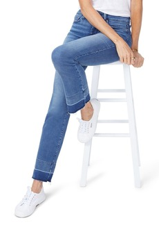Not Your Daughter's Jeans NYDJ Marilyn Wide Release Hem Straight Leg Jeans (Wishful)