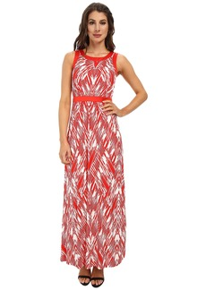 NYDJ Mikala Printed Maxi Dress