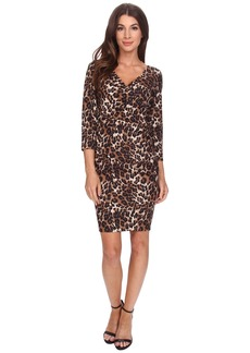 NYDJ Monique Cheetah Print Dress