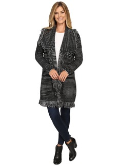 Not Your Daughter's Jeans NYDJ Outerwear Fringed Car Coat