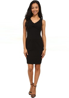 Penelope Stretch Crepe Sheath