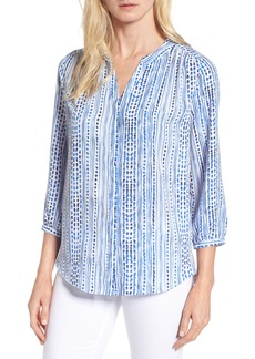 Not Your Daughter's Jeans NYDJ Pleat Back Blouse (Regular & Petite)