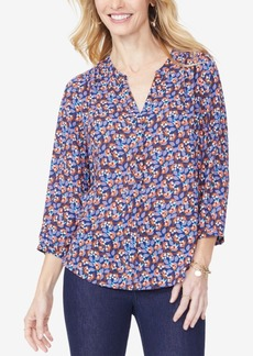 Not Your Daughter's Jeans Nydj Pleated Blouse