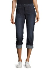NYDJ Dayla Solid Cropped Denim Pants