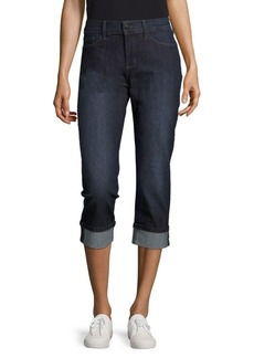 Not Your Daughter's Jeans NYDJ Dayla Solid Cropped Denim Pants