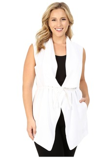 NYDJ Plus Size Plus Size Sleeveless Cascade Jacket