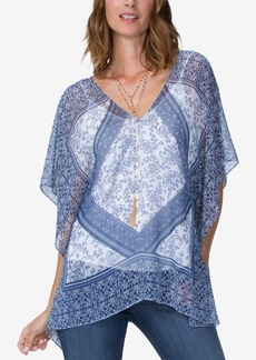 Not Your Daughter's Jeans Nydj Printed Chiffon Top