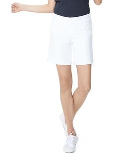 NYDJ Pull-On Denim Bermuda Shorts