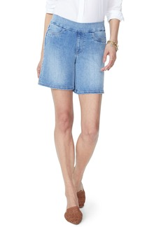 Not Your Daughter's Jeans NYDJ Pull-On Stretch Cotton Blend Denim Shorts