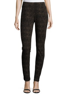 Not Your Daughter's Jeans Python-Print Leggings