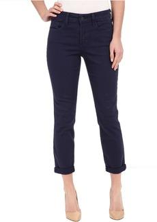 NYDJ Rachel Rolled Cuff Ankle Jeans in Peacoat