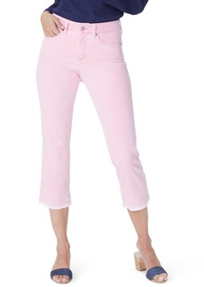 Not Your Daughter's Jeans NYDJ Release Hem Capri Skinny Jeans