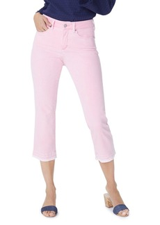 Not Your Daughter's Jeans NYDJ Released Hem Skinny Capri Jeans in Primrose