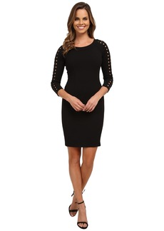 NYDJ Renee Lattice Trim Dress