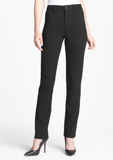 Not Your Daughter's Jeans NYDJ 'Samantha' Colored Ponte Knit Slim Straight Leg Pants