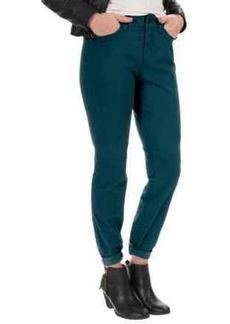 NYDJ Samantha Slim Peached Sateen Pants - Straight Leg (For Women)