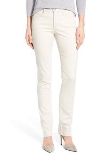 Not Your Daughter's Jeans NYDJ 'Samantha' Stretch Slim Straight Leg Jeans (Regular & Petite)