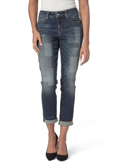 Not Your Daughter's Jeans NYDJ Shadow Patch Stretch Boyfriend Jeans (Horizon)