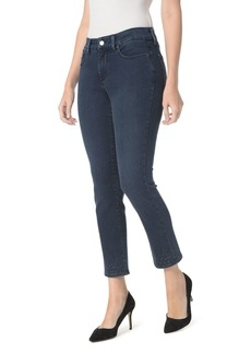 NYDJ Sheri Embroidered Slim Ankle Jeans in Varick