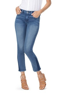 NYDJ Sheri Slim Contrast-Hem Ankle Jeans in Wishful