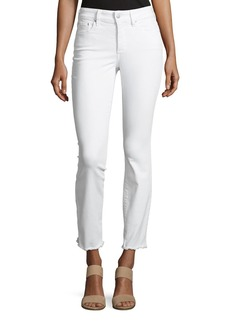 Not Your Daughter's Jeans Sheri Slim Frayed-Hem Skinny Jeans
