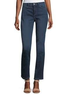 Not Your Daughter's Jeans NYDJ Sheri Slim Straight-Leg Jeans