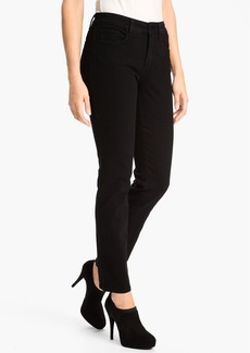 Not Your Daughter's Jeans NYDJ 'Sheri' Stretch Skinny Jeans (Black) (Regular & Petite)