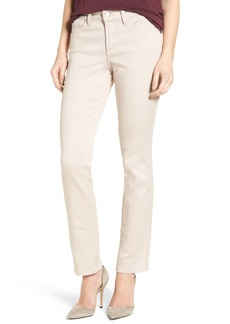 Not Your Daughter's Jeans NYDJ 'Sheri' Stretch Twill Slim Leg Pants (Regular & Petite)