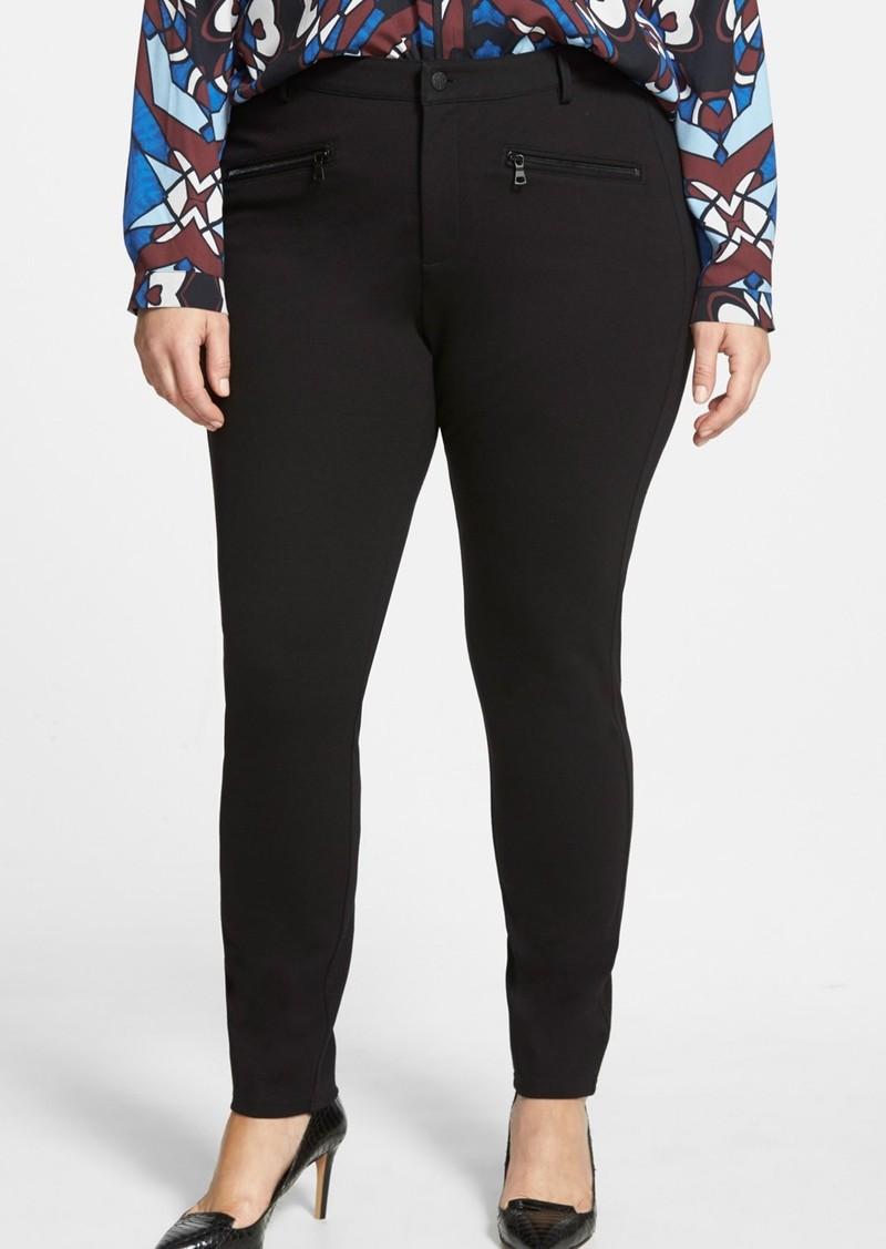 551d4c97e51 NYDJ NYDJ  Ski  Zip Pocket Ponte Knit Skinny Pants (Plus Size ...