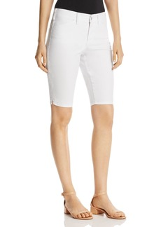 Not Your Daughter's Jeans NYDJ Skinny Bermuda Shorts in Optic White