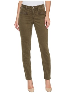 Not Your Daughter's Jeans Skinny Chino Pants w/ Zipper