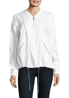 Not Your Daughter's Jeans NYDJ Solid Bomber Jacket