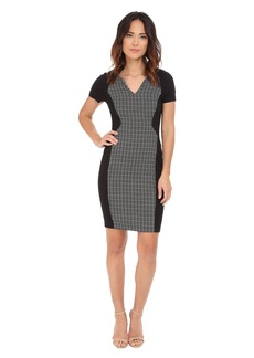NYDJ Sonya Grid Jacquard Dress