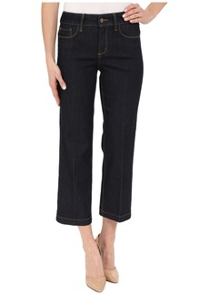 Not Your Daughter's Jeans NYDJ Sophia Flare Ankle Jeans in Dark Enzyme Wash