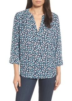 Not Your Daughter's Jeans NYDJ Split Neck Floral Top