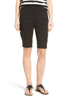Not Your Daughter's Jeans NYDJ Stretch Twill Bermuda Shorts (Regular & Petite)