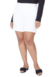 Not Your Daughter's Jeans NYDJ Stretch Twill Bermuda Shorts (Plus Size)