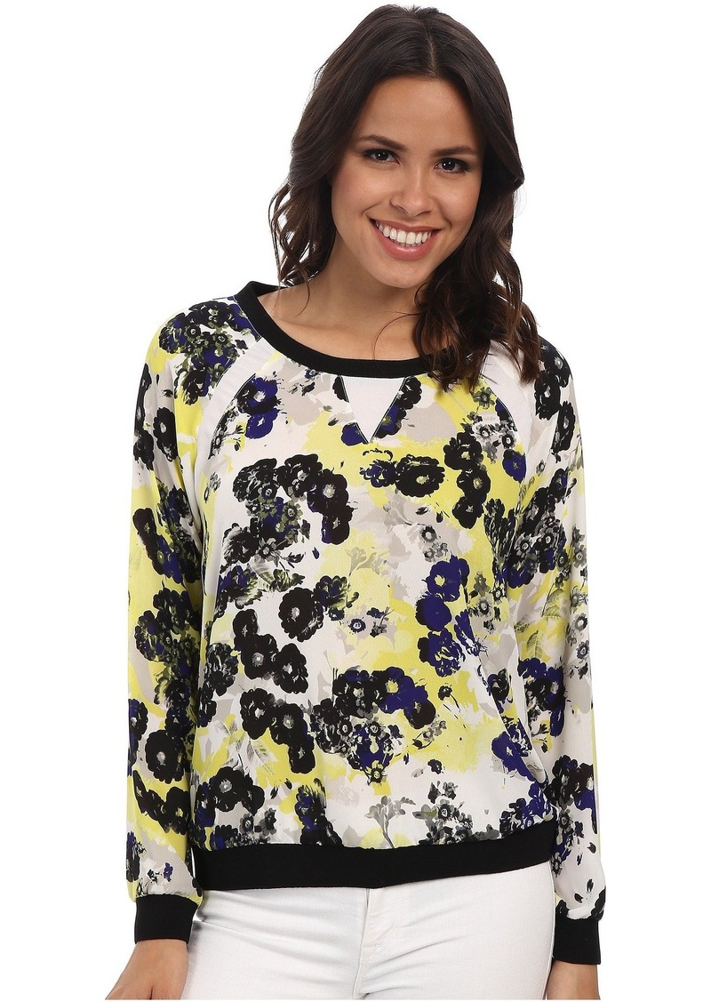Not Your Daughter's Jeans NYDJ Sunny Floral Sweatshirt